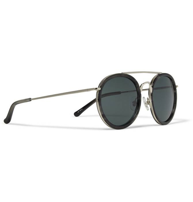 050353df24c Dries Van Noten Aviator Sunglasses - Grey Silver Size one size ...