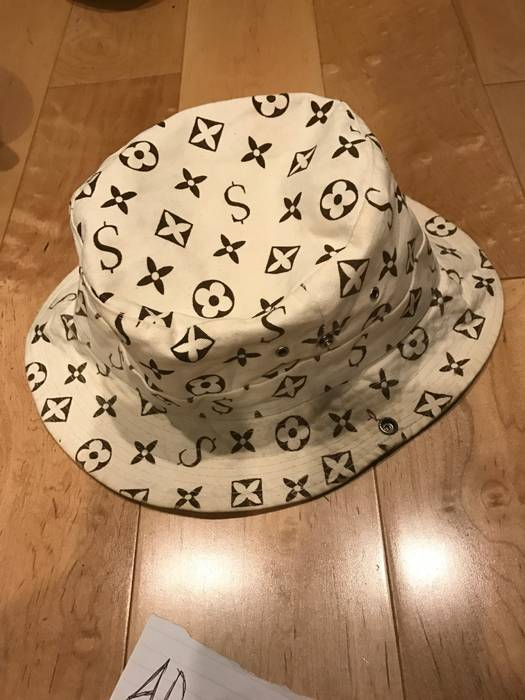 Supreme Supreme LV Monogram Bucket Hat Size one size - Hats for Sale ... fa58e1cae49