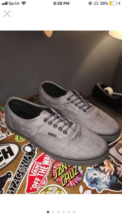 a47c99b28c7 Vans Grey Low Top Vans Size 11 - Low-Top Sneakers for Sale - Grailed
