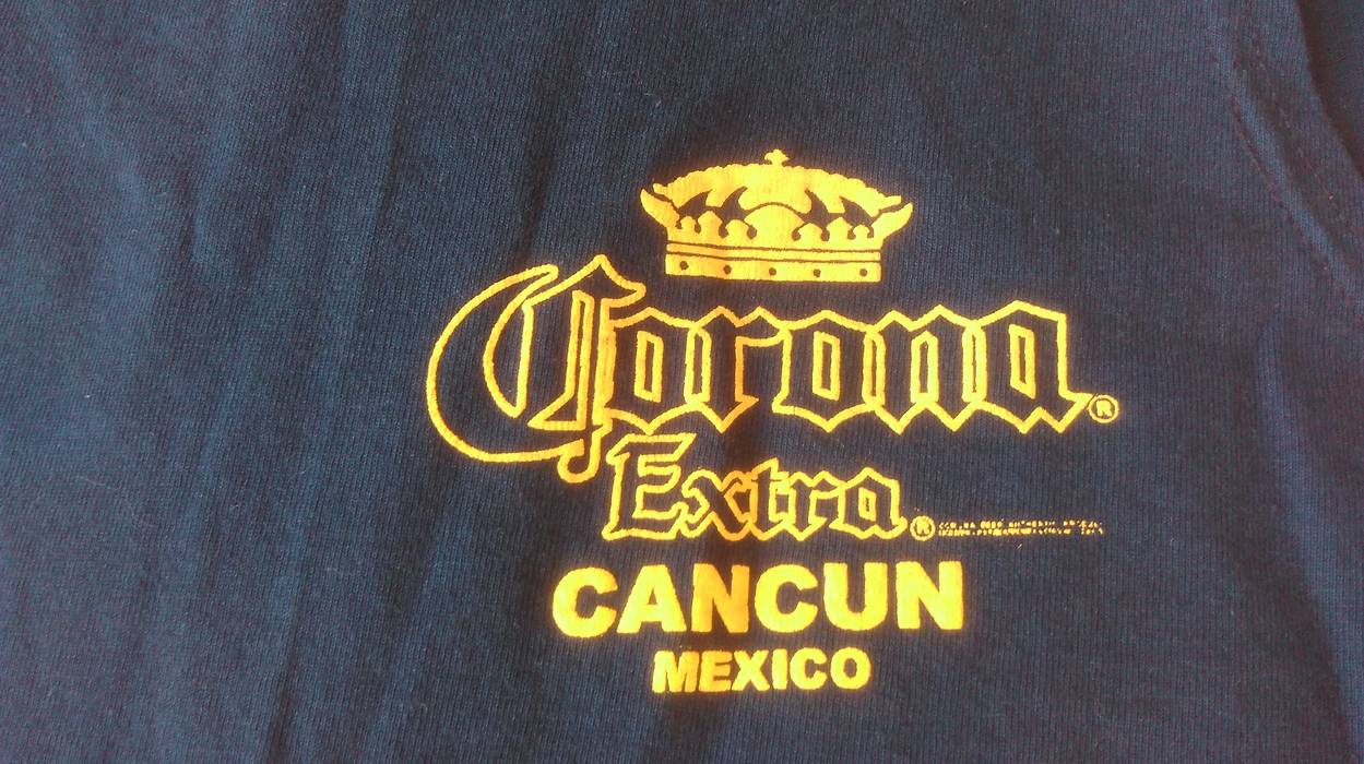 447448d4a9fc63 Corona Corona Extra T-Shirt Size Small Cancun Mexico Cerveza Tank Top Beer  Alcohol Tee