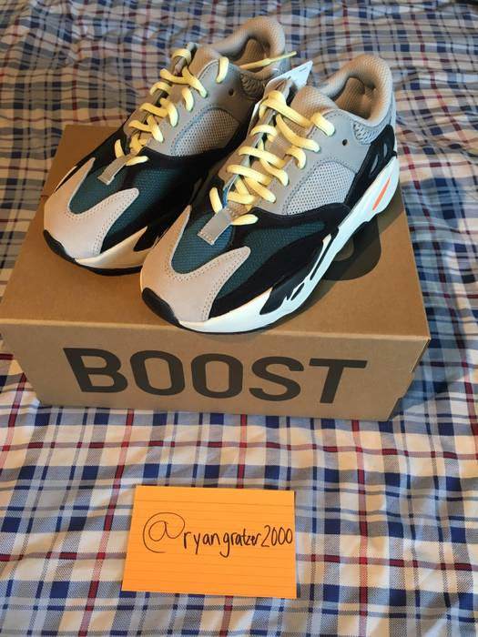 6ecdcc11f5248 Adidas SIZE 4 Yeezy Boost 700 Wave Runner Size 6 - Low-Top Sneakers ...