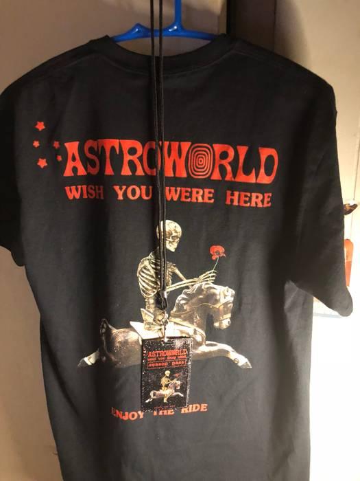 b52848ed Travis Scott ASTROWORLD SEASON PASS & T-SHIRT BUNDLE Size m - Short ...