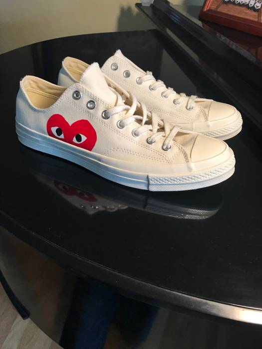 5f30901f274f Converse Comme des garcons play converse Size 11 - Low-Top Sneakers ...