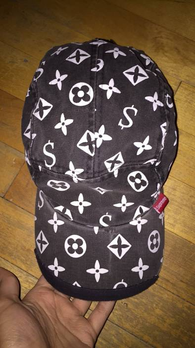 Supreme Supreme LV monogram camp cap Size one size - Hats for Sale ... edc92ba831fb