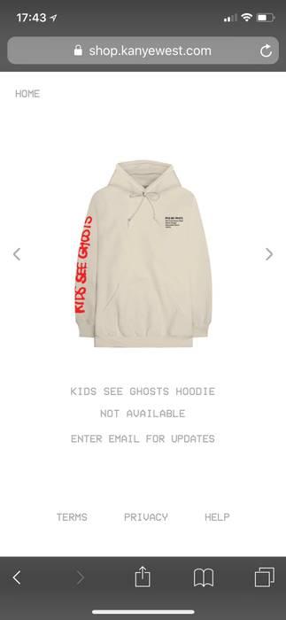 Kanye West Kids See Ghost Hoodie V1 Size M Sweatshirts Hoodies