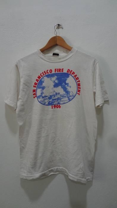 Vintage Vintage San Francisco Fire Department T Shirts Size M Size M