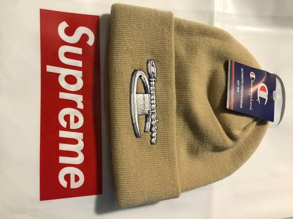 Supreme (FINAL DROP)Champion x Supreme Beanie Size one size - Hats ... 577d56f952b