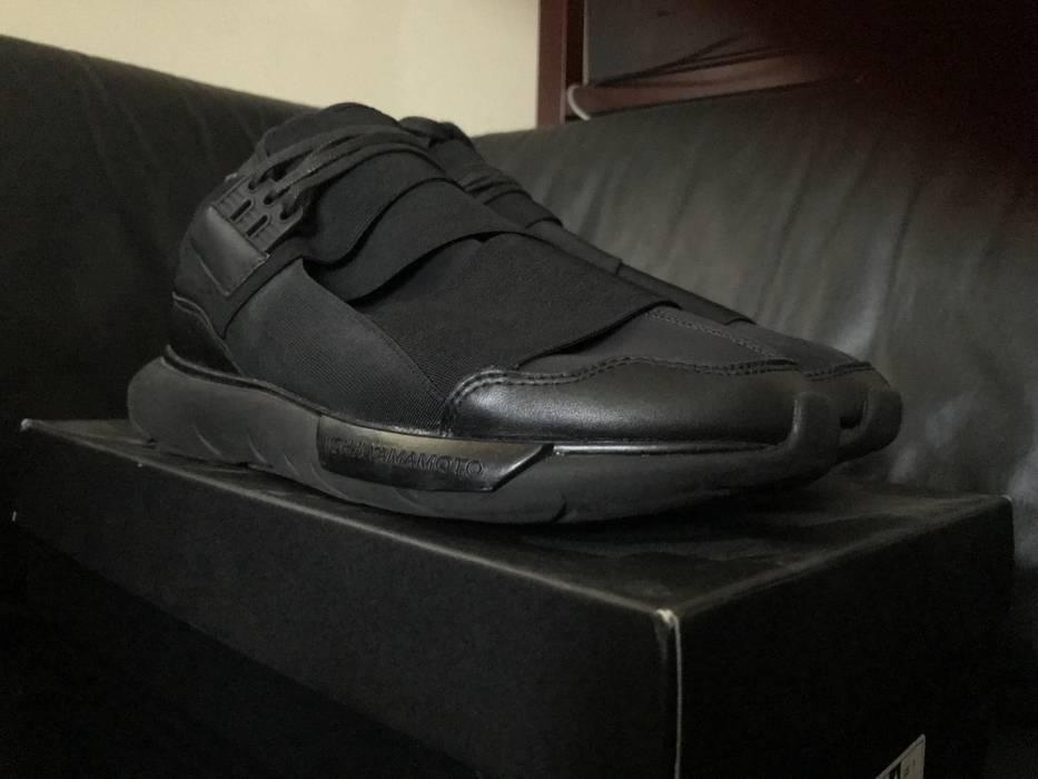 Y-3 Adidas Y-3 Y3 Qasa High Triple Black M21248 Size 9 Size 9 - Hi ... 3e20805fe