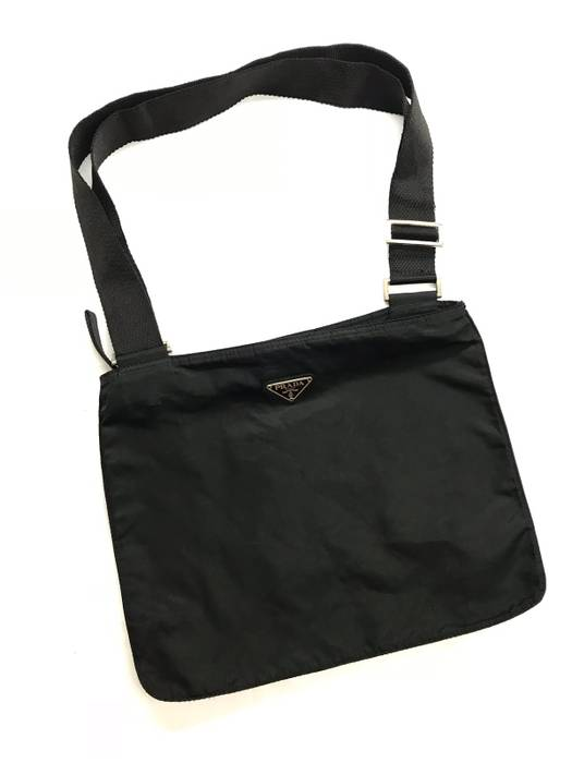 Prada Prada Black Nylon Sling Bag Size one size - Bags   Luggage for ... 739a8b28e2fd6