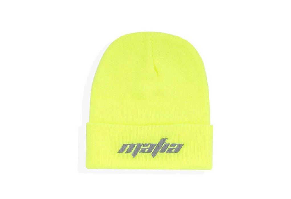 Yeezy Season Mafiaszn Frozen Yellow Beanie Size one size - Hats for ... dd311a652cef