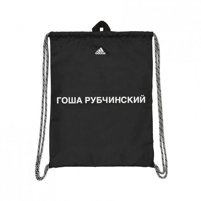 ecf21ea835f Gosha Rubchinskiy Gosha Rubchinskiy x Adidas Gym Bag (Black) Size ...
