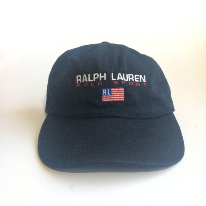 Polo Ralph Lauren Vintage Polo Sport Ralph Lauren Baseball Cap Dad Hat Size  ONE SIZE 09f34704d24