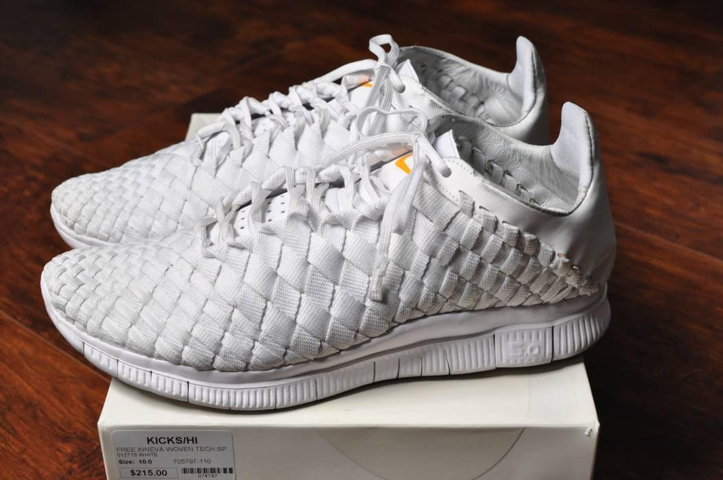 hot sale online 67e25 7dfe0 Nike. Triple White V1 Free Inneva Woven ...