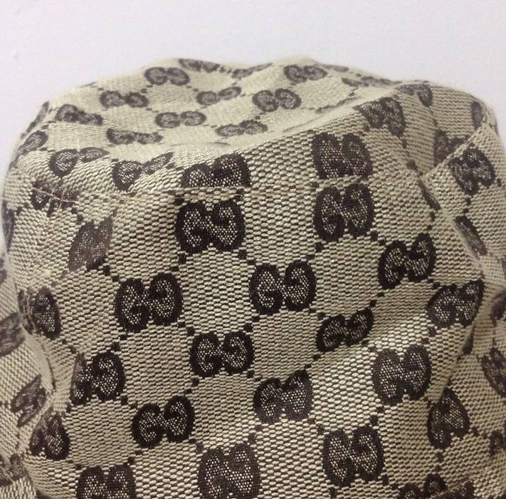 Gucci Vintage Gucci Monogram Bucket Hat made in italy not louis vuitton  fendi chanel balenciaga givenchy b7411fb9fe97