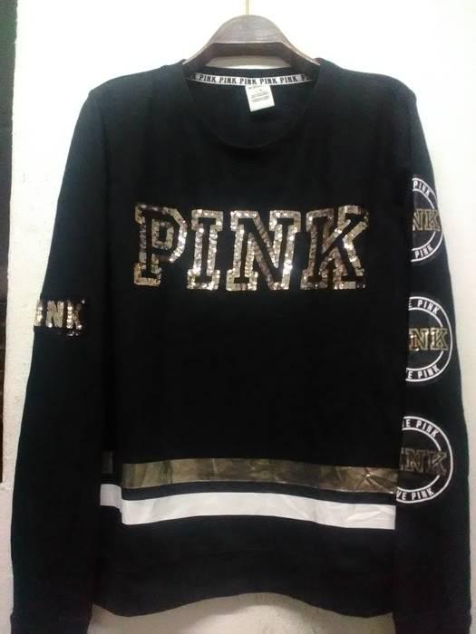 Japanese Brand Pink By Victorias Secret Sweatshirts Size L