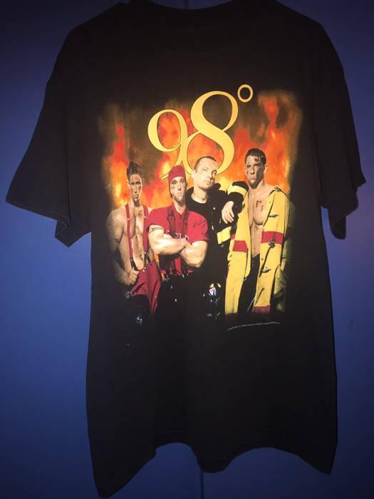 037074e779d Vintage 98 Degrees 1998 Size xl - Short Sleeve T-Shirts for Sale ...