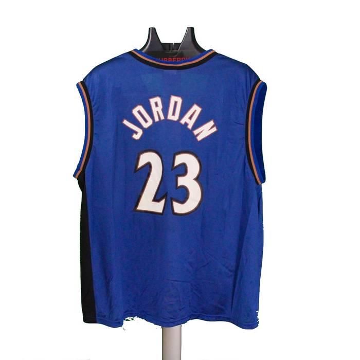 Jordan Brand Michael Jordan  23 Washington Wizards Authentic NBA Champion  Jersey Size US L   910f187d3