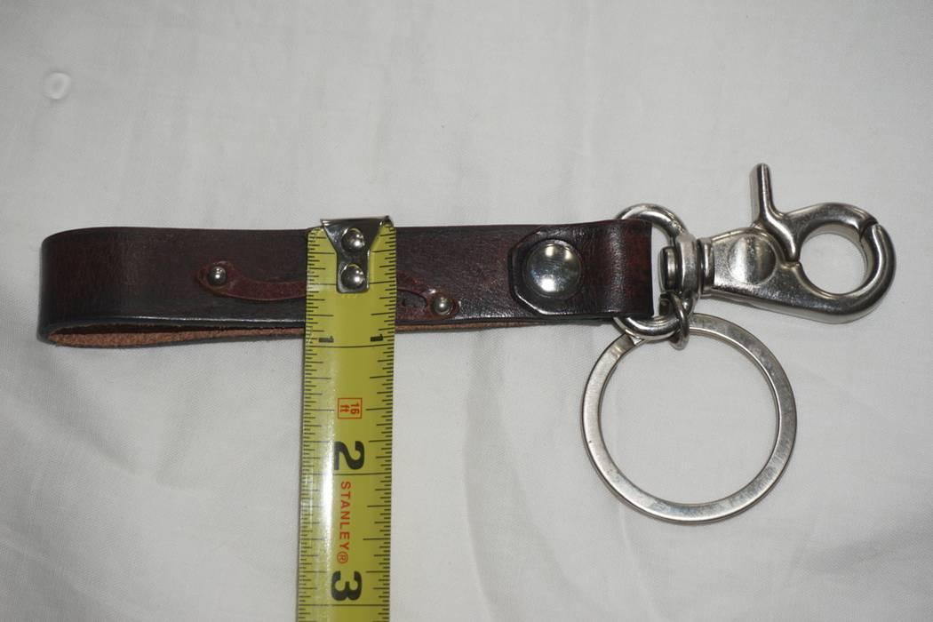 Emporio Armani Emporio Armani Leather Strap Key Chain Size one size ... 61884512cf63a