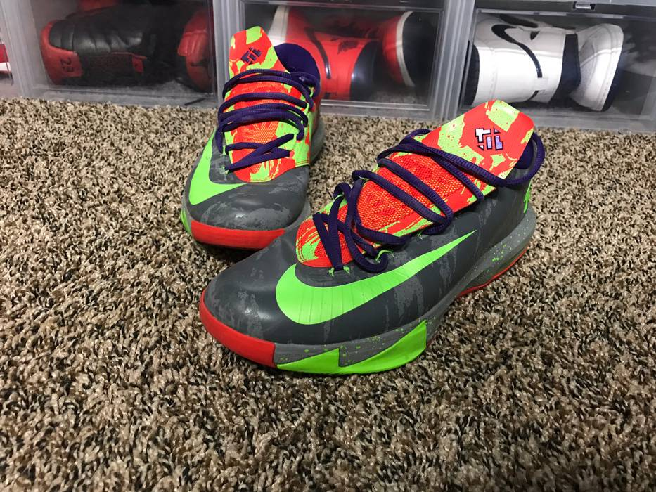 Nike KD 6 Energy Kevin Durant Size 10 No Box Used Size 10 - Low-Top ... 837c8cdf43