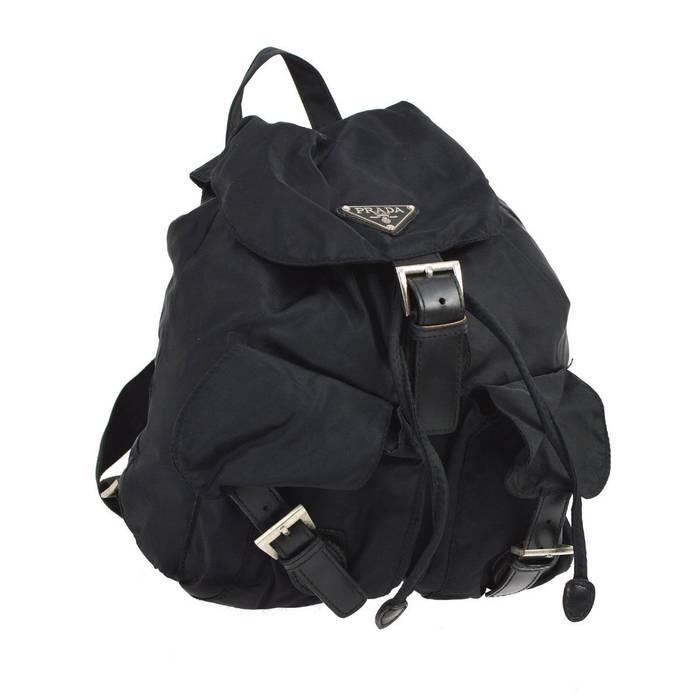 7ea969cee849 Prada Prada Vela Mini Crossbody Backpack Bag (Black) Size one size ...