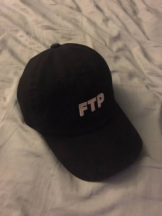 f2bc92b0952 Fuck The Population Black FTP OG Logo Cap Size one size - Hats for ...