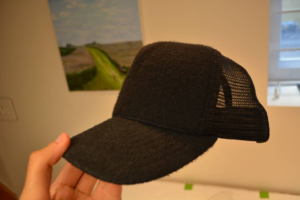 6321da02784 James Perse Black Double Face Knit Trucker Size one size - for Sale ...