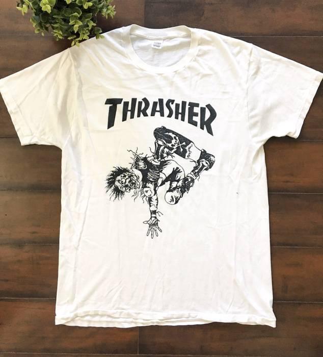 Thrasher Ryan Gosling Worn Vintage Thrasher Tee Rare Size US M   EU 48-50 7408654f5