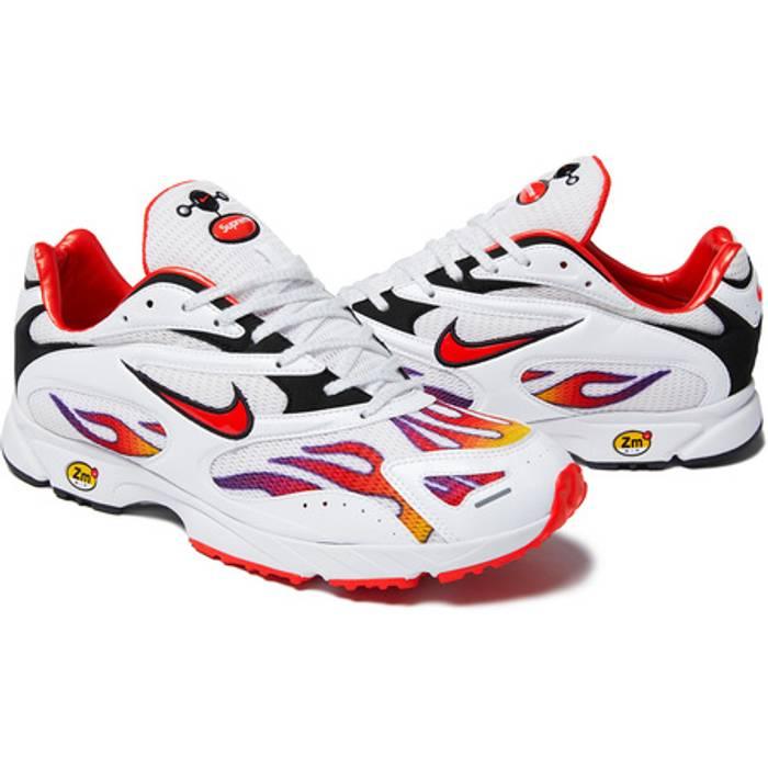 6ea4474f817ea Supreme Supreme x Nike Air Zoom Streak Spectrum Plus White - US9 Size US 9
