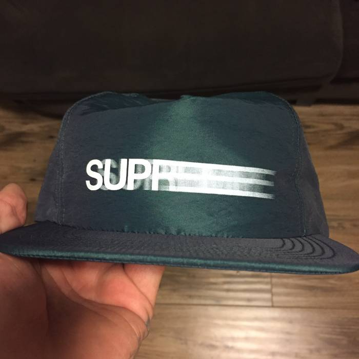 68892391e44 Supreme Motion Logo Iridescent 5 Panel (Teal) Size one size - Hats ...