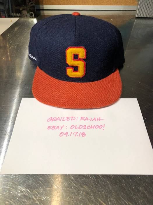 ceba20be ... norway supreme 2011 supreme s felt wool snapback hat size one size  cacd3 8cb64