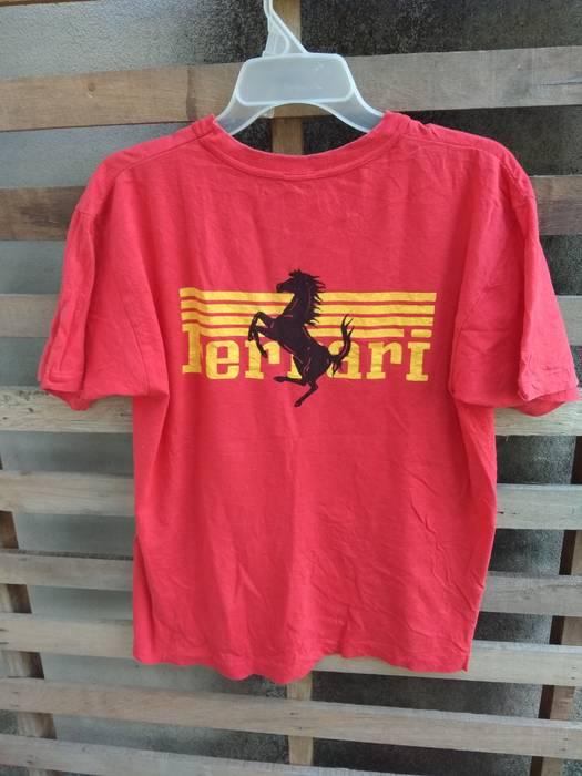 c41bf9142c3 Ferrari Rare!! vintage tshirt ferrari Big Logo very good condition ...