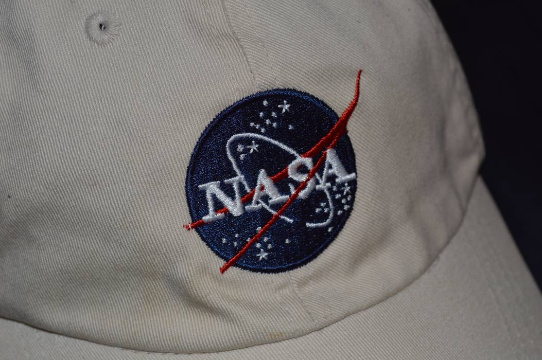 13e01a51833 Vintage Vintage Nasa Patch Dad Styled Hat Size one size - Hats for ...