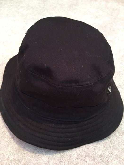 Vans Vans Reversible Black Checkerboard Bucket Hat Size one size ... 02a510fcd5c8