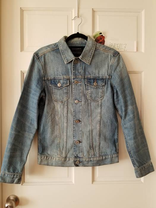 Allsaints Allsaints Hisa Denim Jacket  mint  Size s - Denim Jackets ... fed351ac9