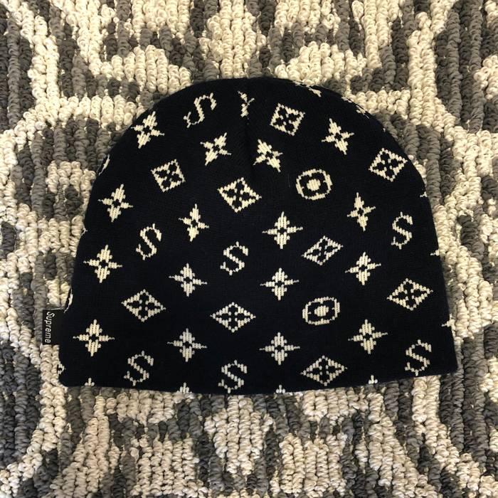 Supreme 2000 Supreme Louis Vuitton Monogram Beanie Size one size ... 0ff04546a04