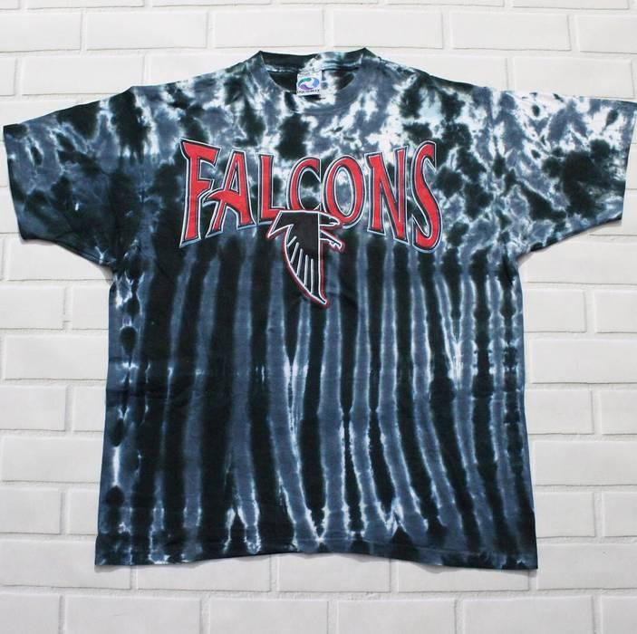Nfl Vintage Liquid Blue Atlanta Falcons Tie Dye T-Shirt Size US L   EU ec10f7e70