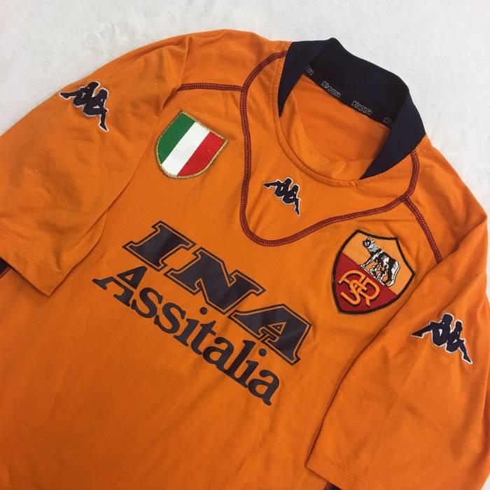 d37b5601b Kappa 2001 Francesco Totti Roma Jersey Size s - Short Sleeve T ...