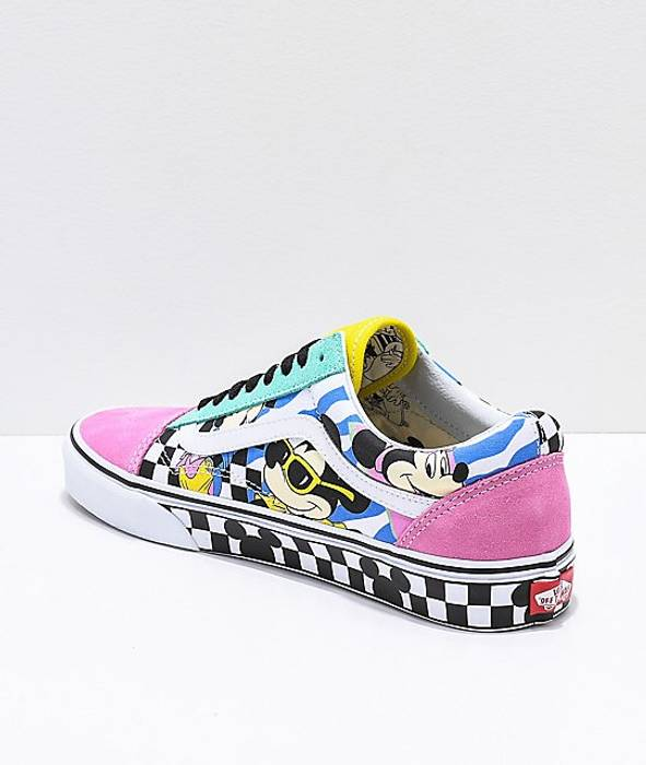 e29ee9da51e Vans Vans Old Skool (Disney) 80 s Mickey TRUE Size 9 - Low-Top ...