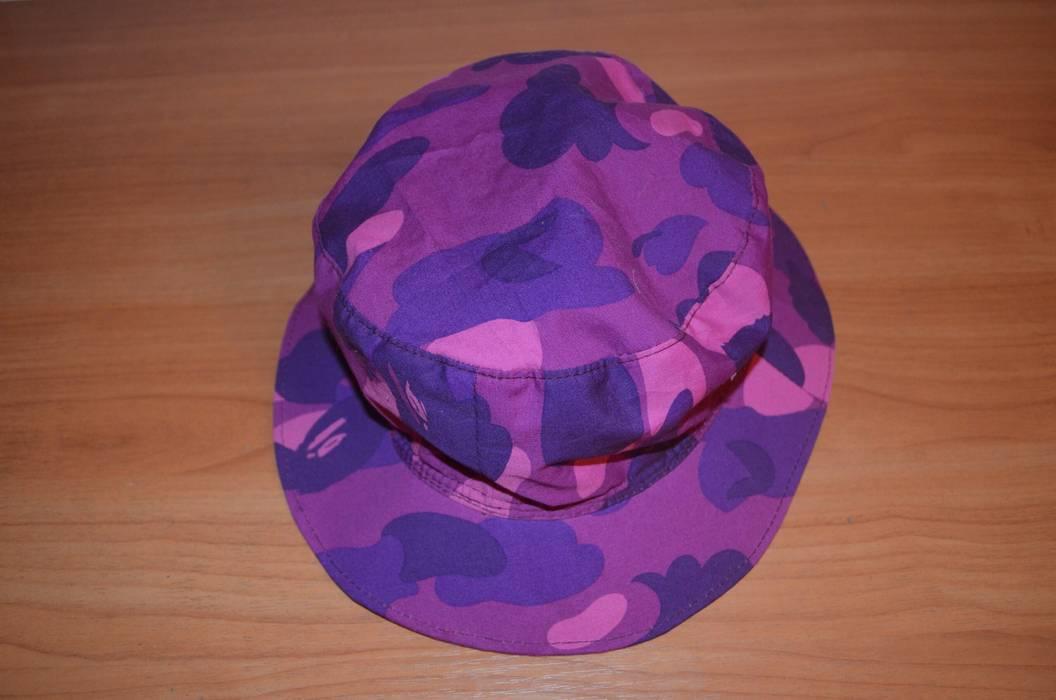 Bape Purple Camo Custome Bucket Hat Size one size - Hats for Sale ... 59d716a94cc