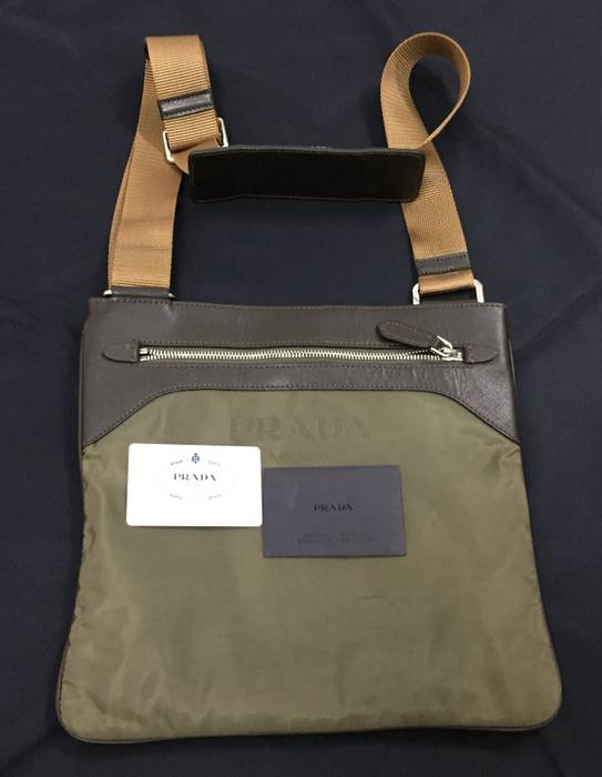 b64d12ecc1bd Prada 🔥FINAL DROP🔥Authentic PRADA Tessuto Sling Bag Cross Body ...