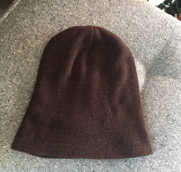 Unbranded Unbranded Brown Winter Hat w  Vintage Ford Patch Size ONE SIZE - 2 1f8c37c2601