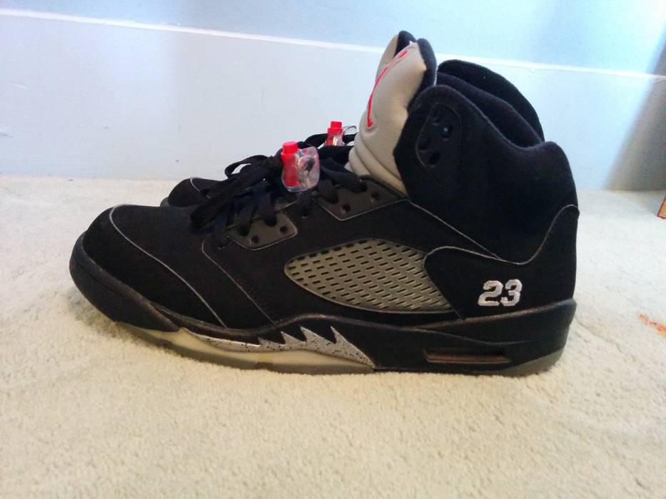 b13244b8235c Nike Air Jordan 5 Black
