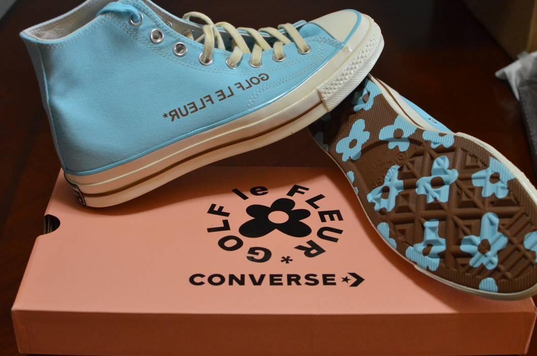 Converse Golf Le Fleur Hi Top Converse Blue Cfg Exclusive Size 8 5