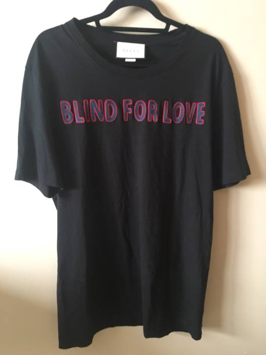 6b73accd Gucci Gucci Blind For Love Shirt Size l - Short Sleeve T-Shirts for ...