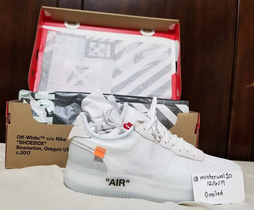 Nike Nike x Off-White Air Force One size 12 Size 12 - Low-Top ... 1fd836d4c
