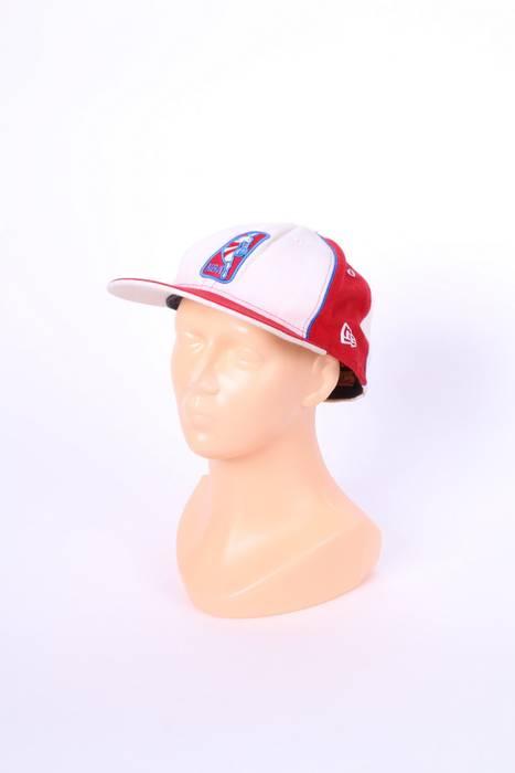 New Era New Era Mens 59.6 7.5 Caps NBA Basketball Red White 76 ers ... 3e659e1b95e