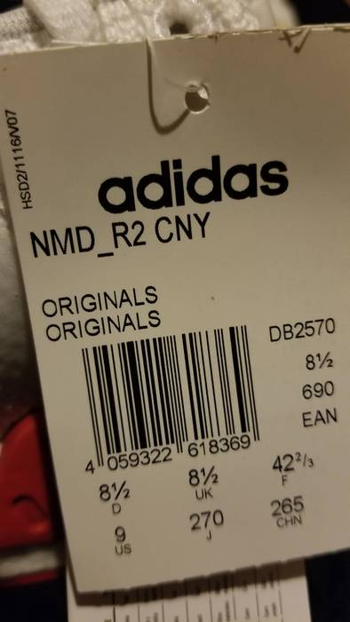 7dd8456e8 Adidas NMD Chinese New Year Size 9 - Low-Top Sneakers for Sale - Grailed