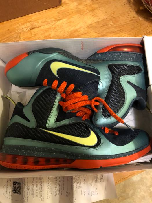 Nike Lebron 9 Cannon Size 11 - Hi-Top Sneakers for Sale - Grailed 906c1f94c