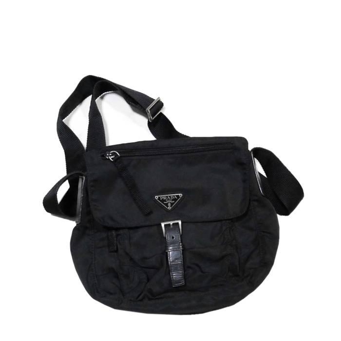 Prada Vintage Prada Logo Vela Crossbody Bag Size one size - Bags ... 7df24a1093ef6