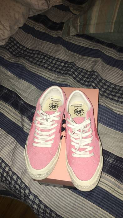 Converse Golf Le Fleur Uno Rose Size 8 Low Top Sneakers For Sale